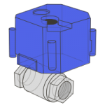 Drive-the-ball-valve
